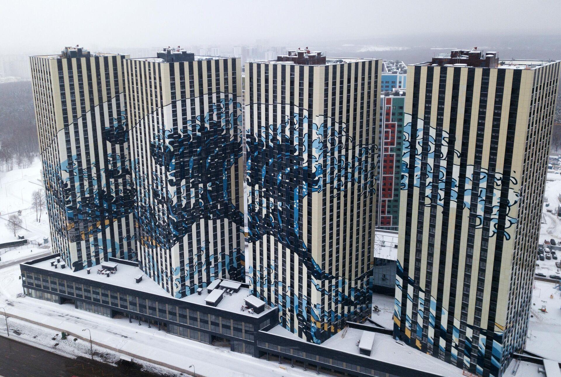 Жилой комплекс Токио в Южном Бутово - РИА Новости, 1920, 12.04.2021