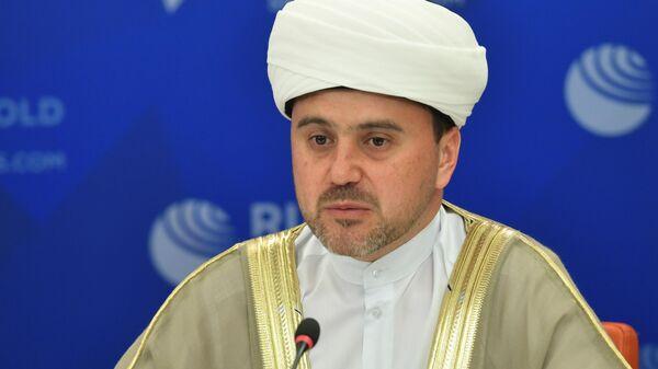 Первый заместитель председателя Совета муфтиев России, муфтий Московской области Рушан Аббясов