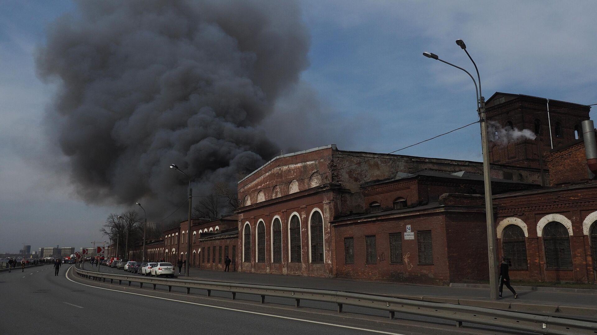 """Замгендиректора """"Невской мануфактуры"""" арестовали по делу о пожаре"""