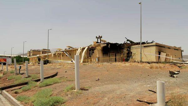 Последствия пожара на заводе по обогащению урана в Натанзе