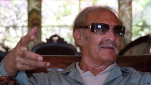 Американский режиссер Ричард Раш. Кадр из интервью