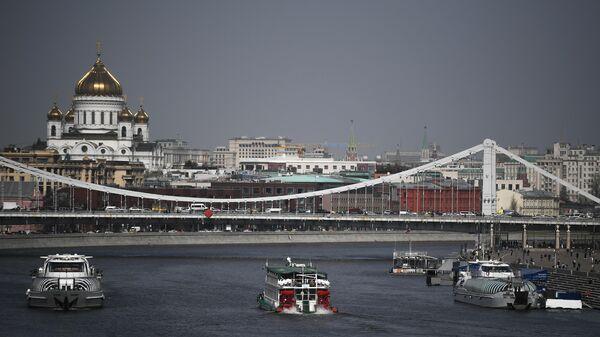 Теплоходы на Москве-реке