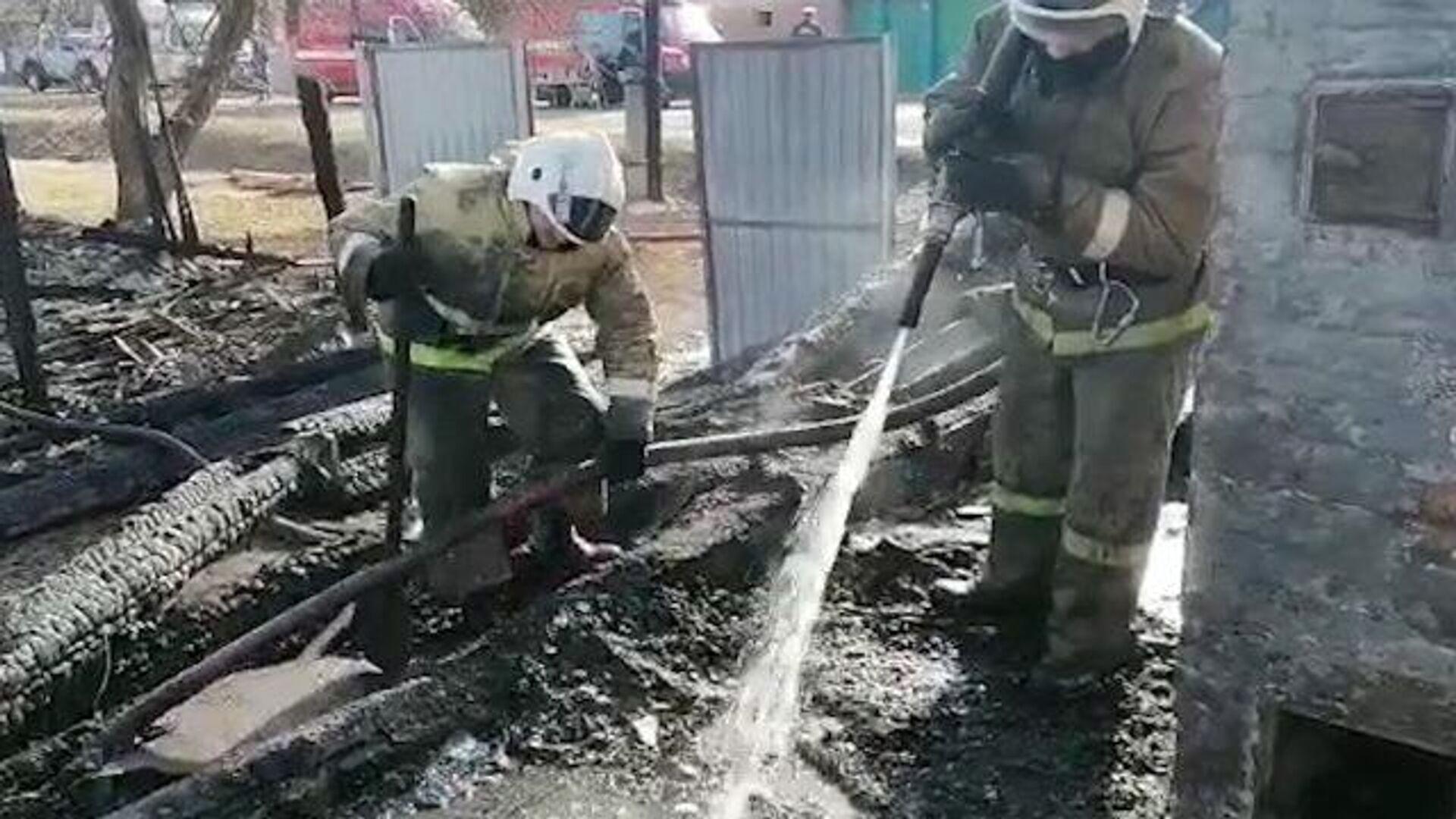 После пожара в гостинице на Сахалине нашли тело погибшего
