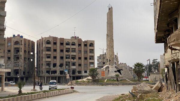 Город Дума под Дамаском