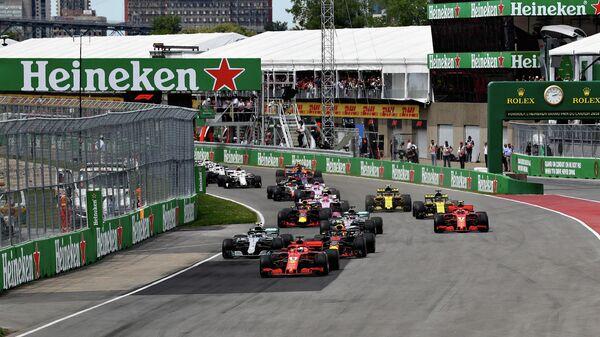 Гран-при Формулы-1 в канадском Монреале