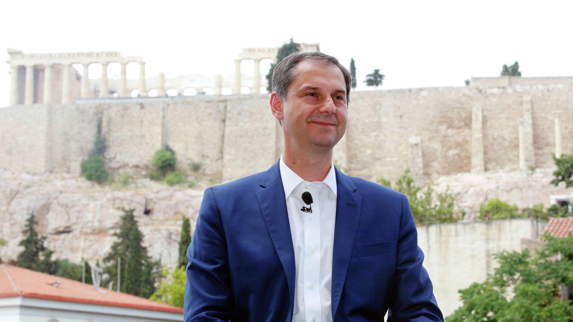 Министр туризма Греции Харис Теохарис  - РИА Новости, 1920, 16.04.2021