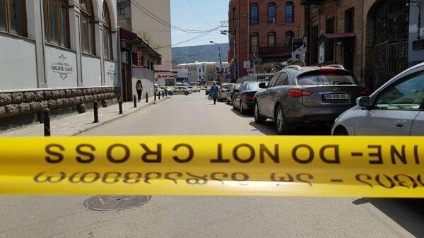 Захват заложников в  Банке Грузии  в Тбилиси