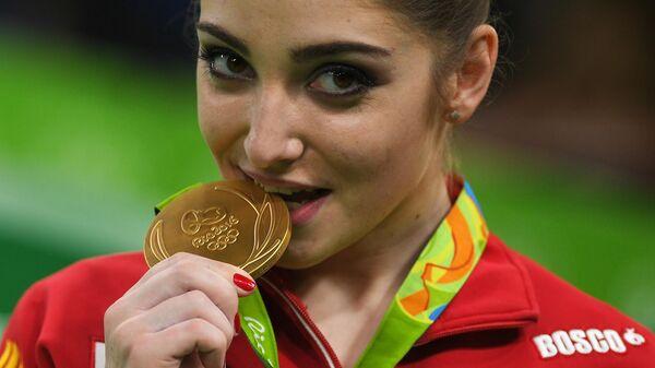 Олимпиада 2016. Спортивная гимнастика. Женщины. Разновысокие брусья