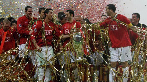 Победители Лиги чемпионов-2007/08 - Манчестер Юнайтед