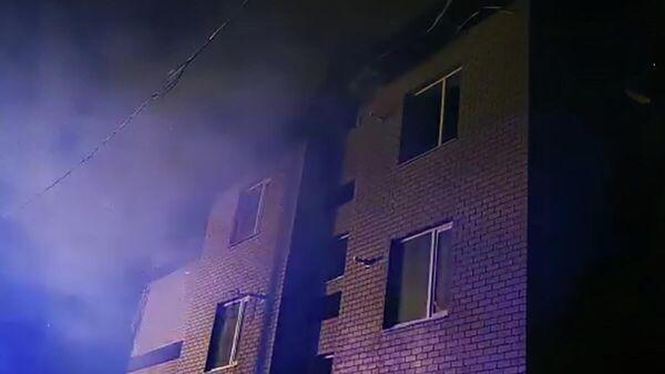 Взрыв газа и пожар в трёхэтажном жилом доме в Нижегородской области