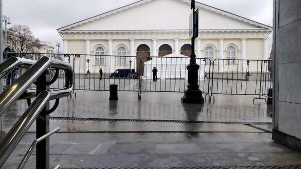 Кадры Манежа перед посланием президента