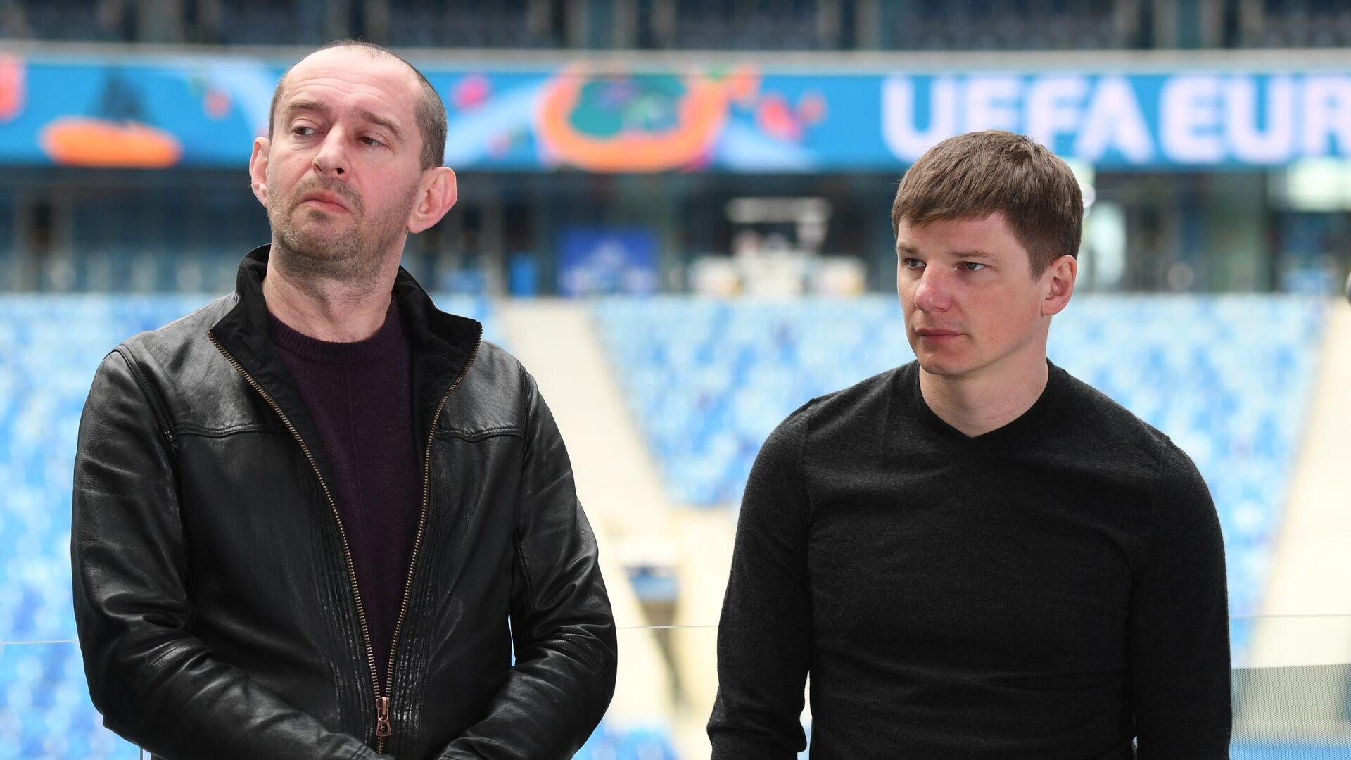 Константин Хабенский (слева) и Андрей Аршавин - РИА Новости, 1920, 22.04.2021