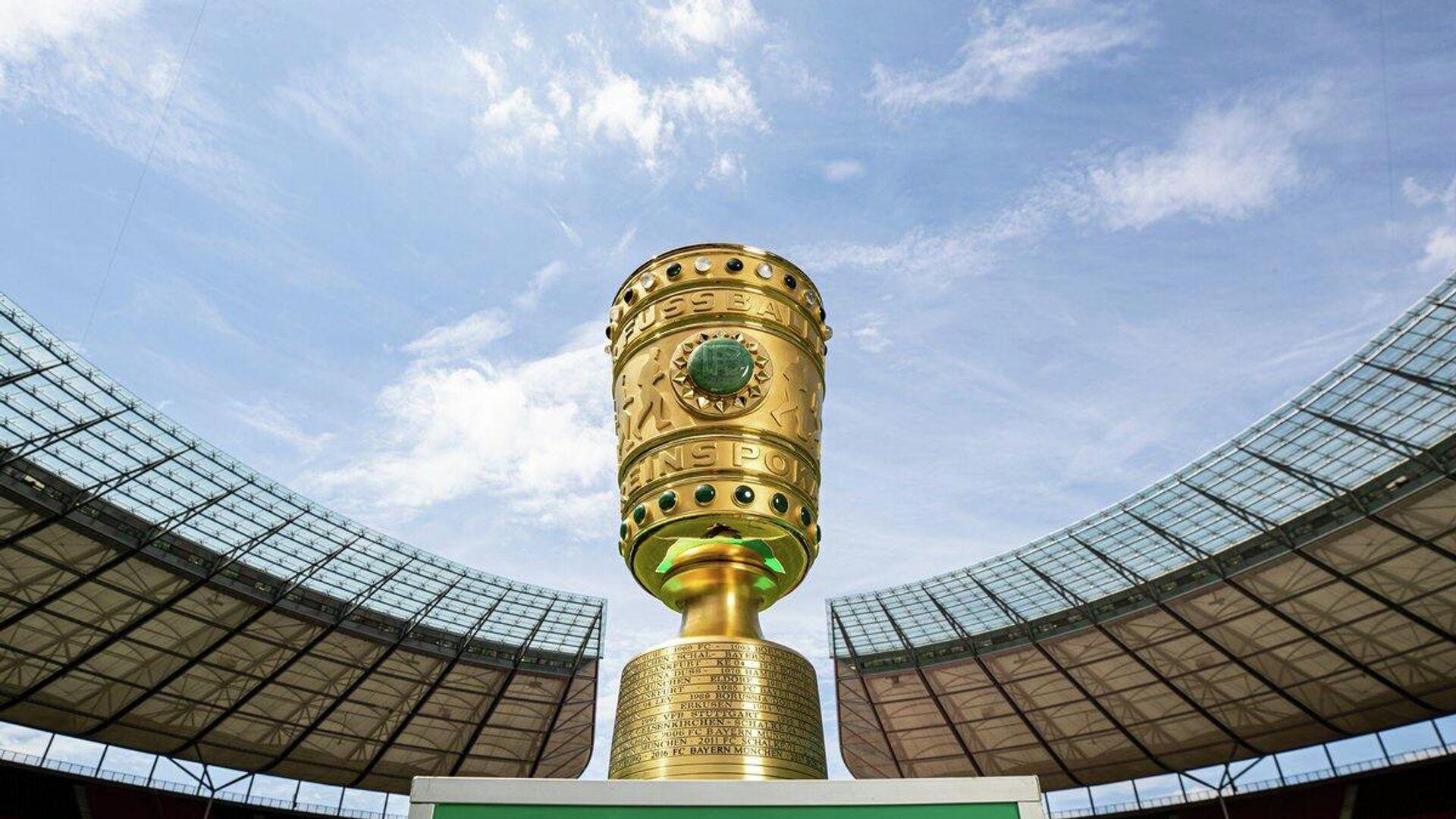 Трофей Кубка Германии по футболу - РИА Новости, 1920, 23.04.2021