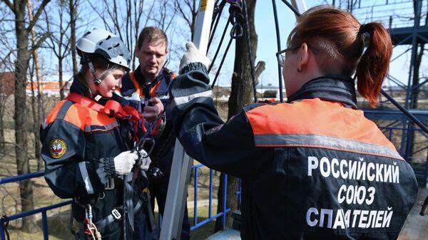 Учебно-тренировочные сборы добровольных пожарных, резервистов и спасателей