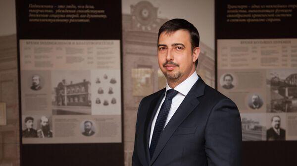Ректор Сибирского федерального университета Максим Румянцев
