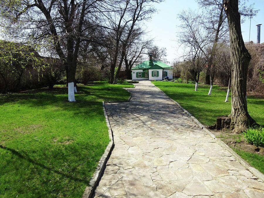 Музей Домик Чехова, внутренний двор