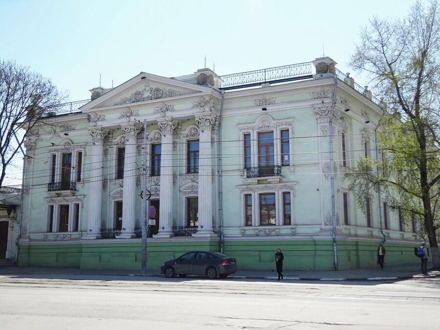 Дворец Николая Алфераки сегодня занимает историко-краеведческий музей