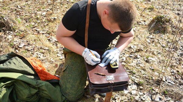 Археологические работы в районе реки Гоголь на стыке Тульской и Орловской областей