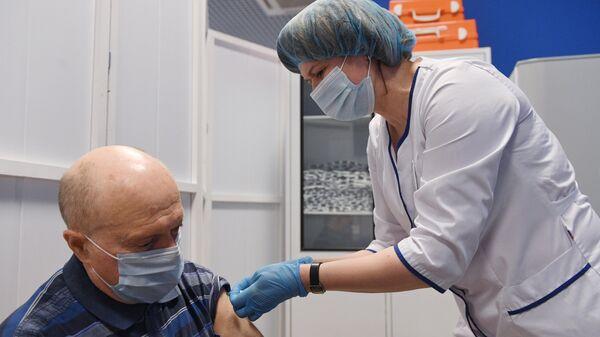 Вакцинация от COVID-19 в ТРЦ Калейдоскоп