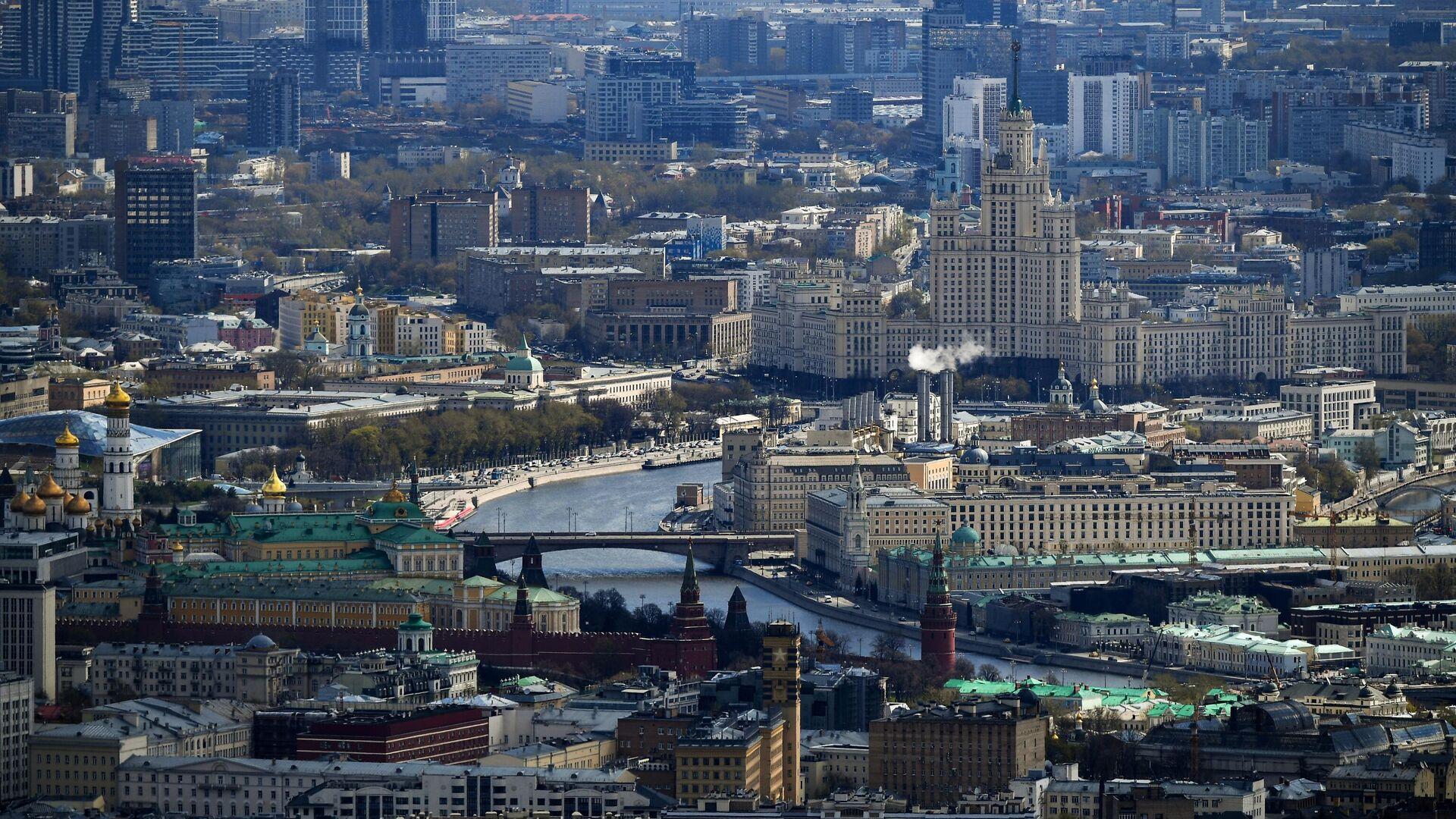 Вид на центр Москвы - РИА Новости, 1920, 23.06.2021