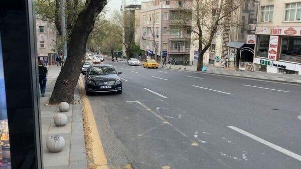 Улицы Турции во время полного локдауна