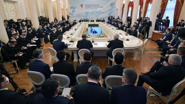 Заседание Евразийского межправительственного совета стран ЕАЭС в расширенном составе в Казани