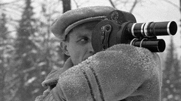 Советский кинооператор Эдуард Тиссэ
