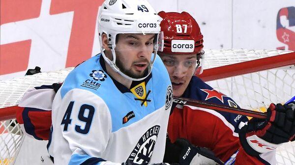 Хоккеист Сибири Ефим Гуркин