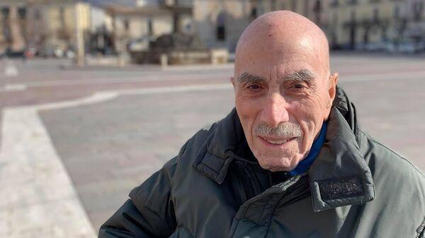 Участник итальянского движения Сопротивления Джилберто Малвестуто