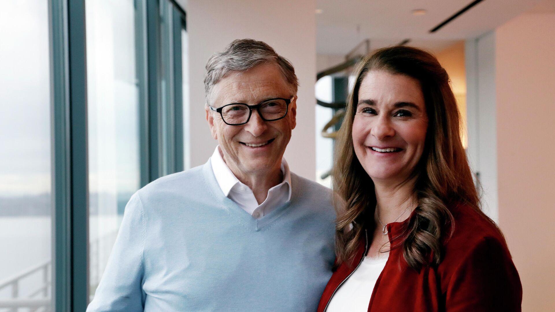 Билл и Мелинда Гейтс в 2019 году - РИА Новости, 1920, 02.08.2021