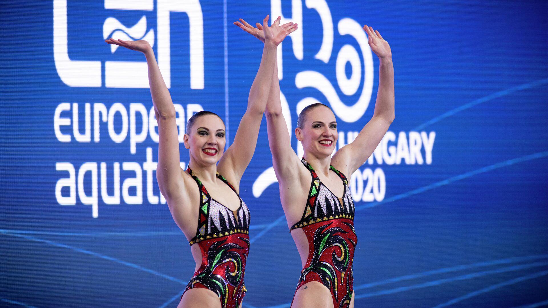 Светлана Колесниченко и Светлана Ромашина - РИА Новости, 1920, 13.05.2021