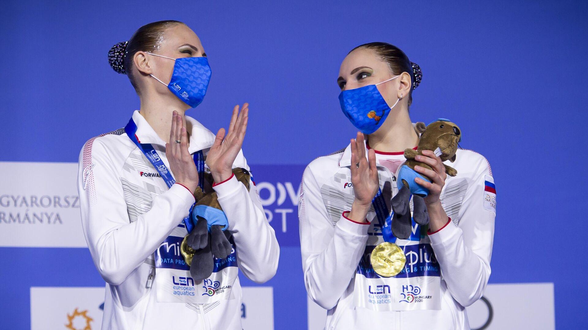 Светлана Ромашина и Светлана Колесниченко - РИА Новости, 1920, 13.05.2021
