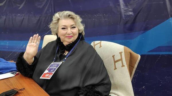 Заслуженный тренер СССР Татьяна Тарасова