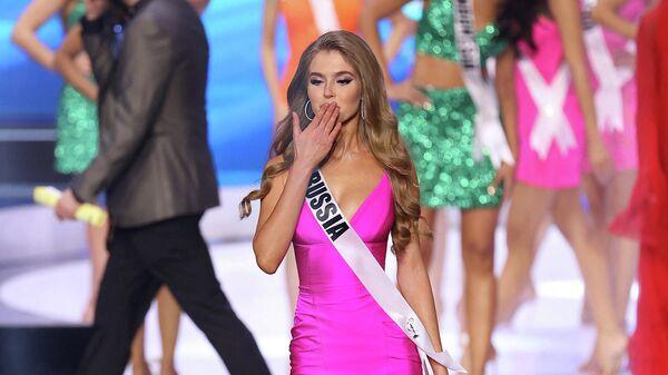 Мисс Россия 2019 Алина Санько на международном конкурсе красоты Мисс Вселенная — 2021