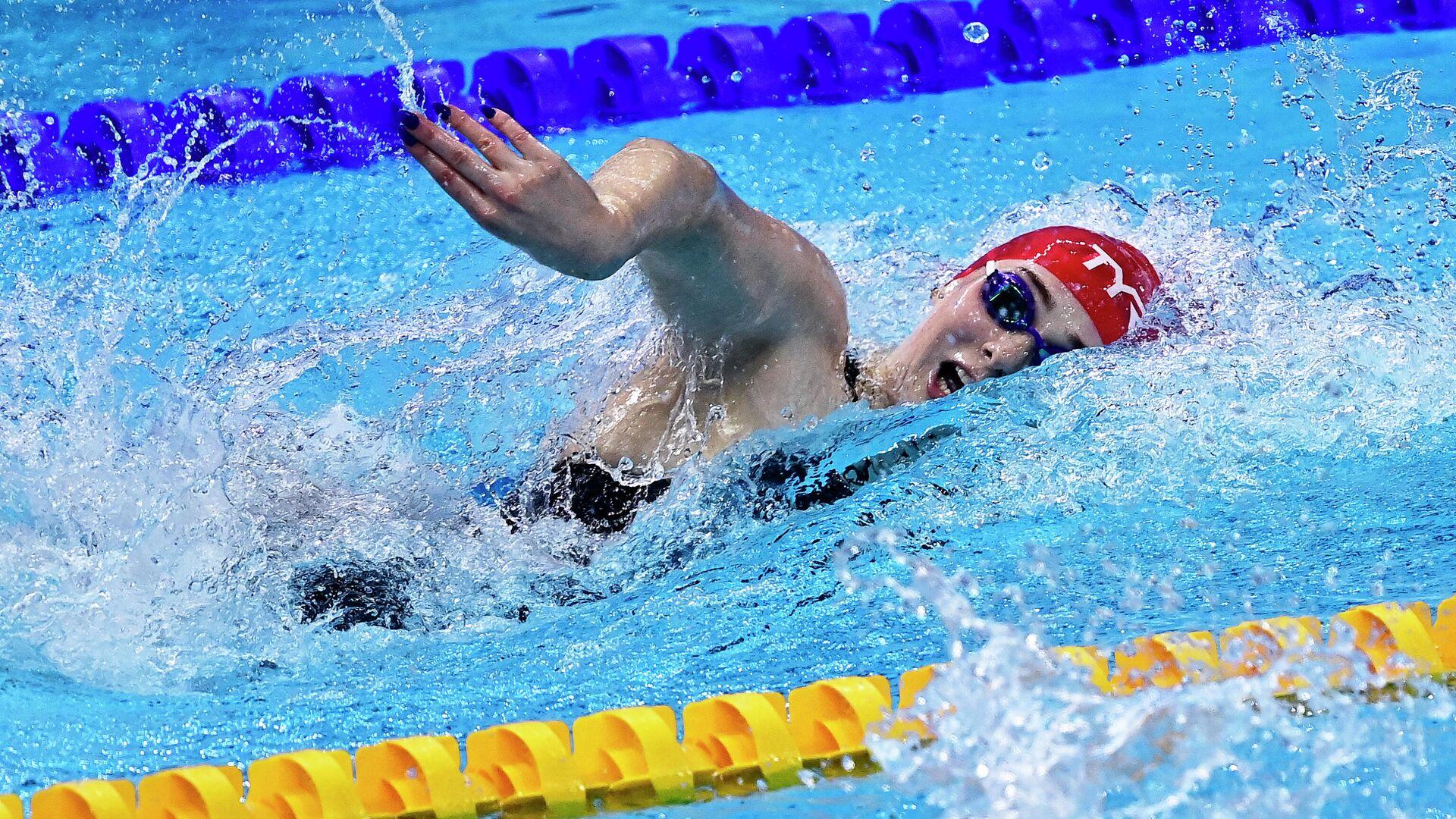 Представительница женской сборной Великобритании по плаванию Фрейя Андерсон - РИА Новости, 1920, 17.05.2021