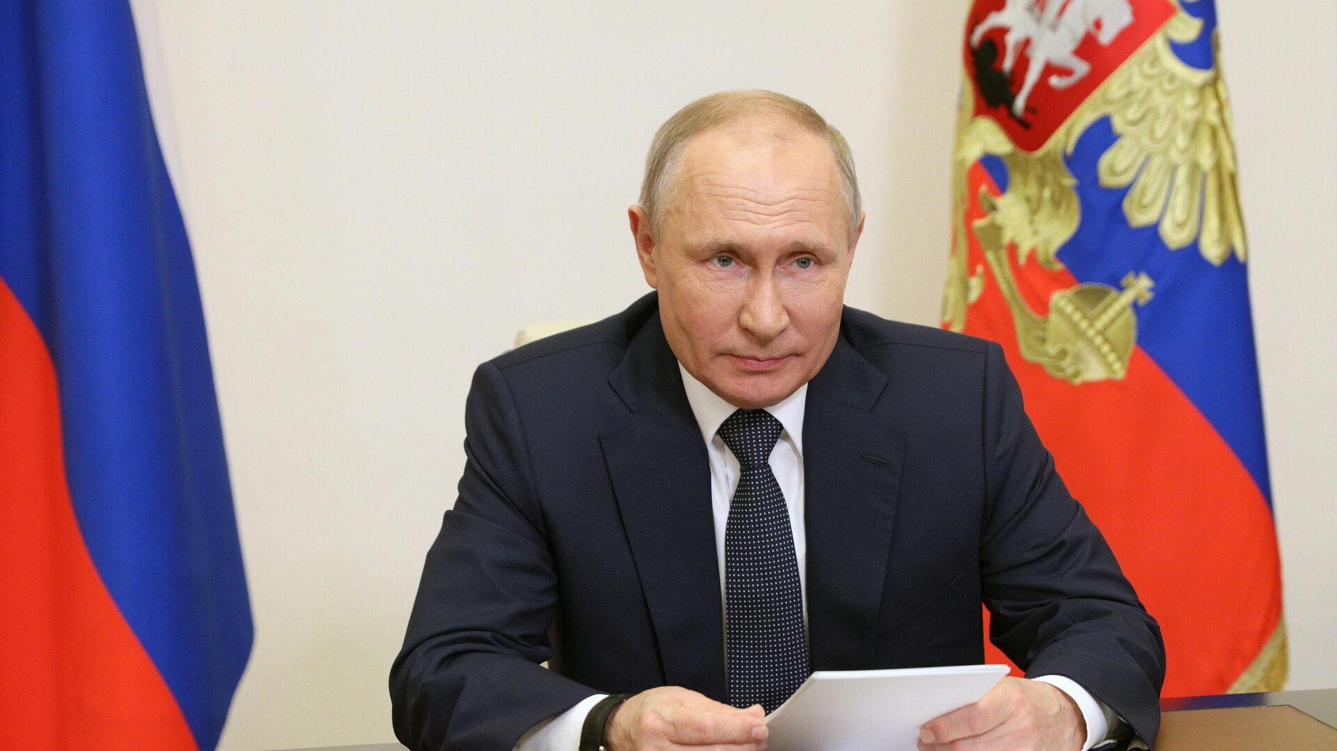 """Путин может лично выступить на предвыборном съезде """"Единой России"""""""