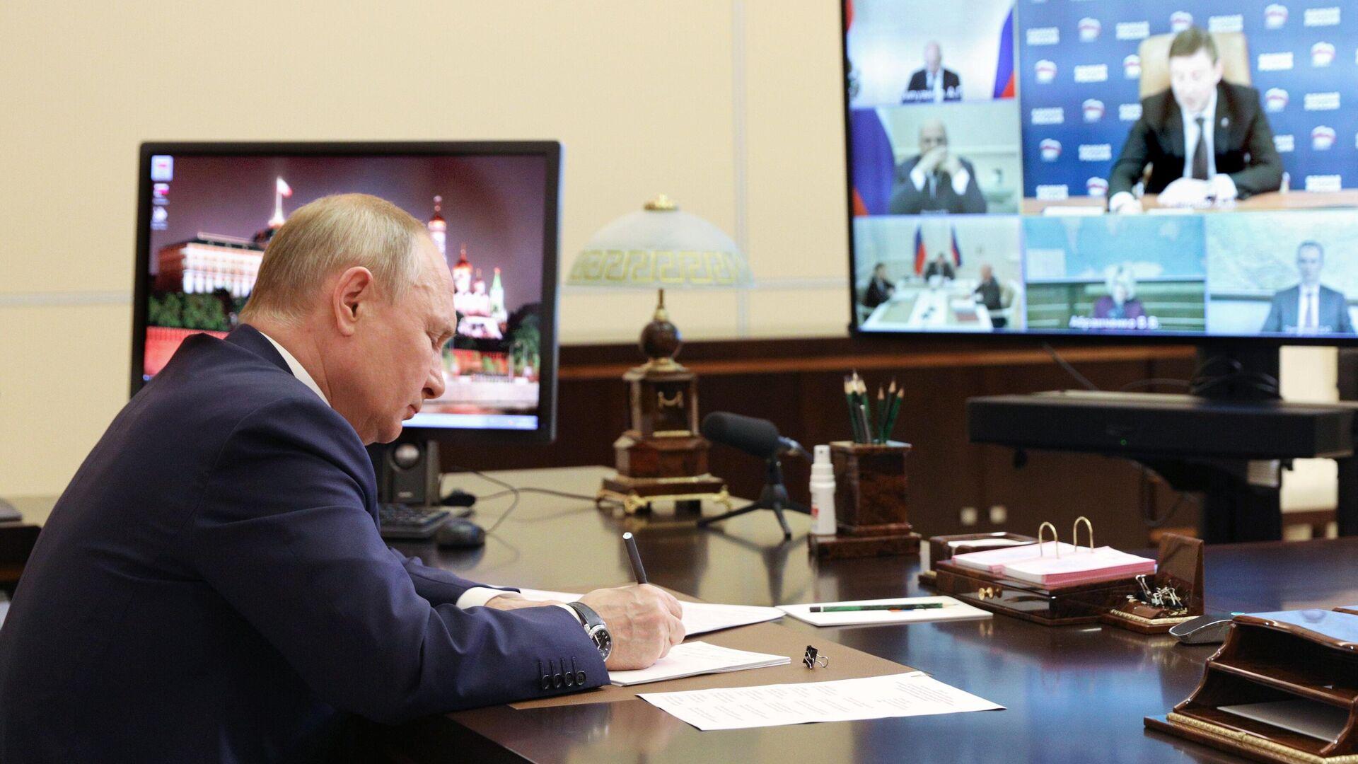Путин подписал указ о назначении заместителя генпрокурора