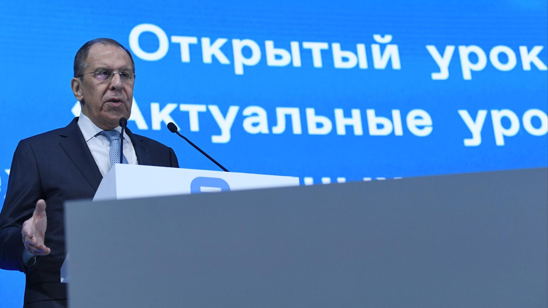 Лавров сравнил позицию Прибалтики и США с поведением дворовых хулиганов