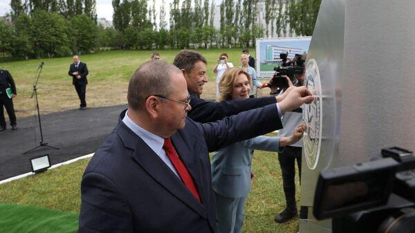 В Пензе заложили первый камень в основание лаборатории онкоцентра