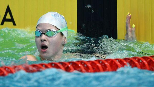Пловчиха Мария Каменева (Россия)