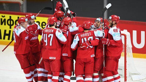 Хоккей. Чемпионат мира. Матч Дания – Швеция