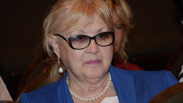 Актриса Нина Филатова-Шацкая