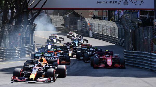Старт гонки Гран-при Монако Формулы-1