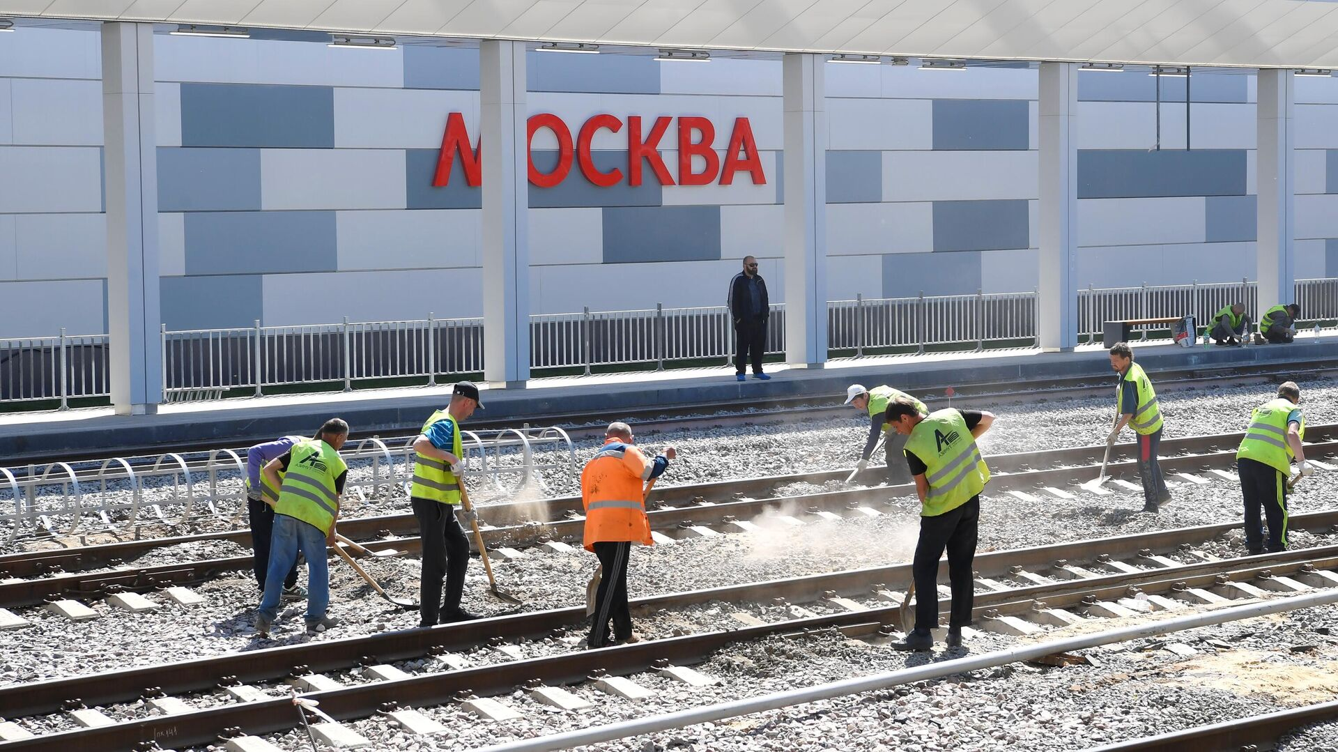 В Москве произошла массовая драка вблизи одной из строек