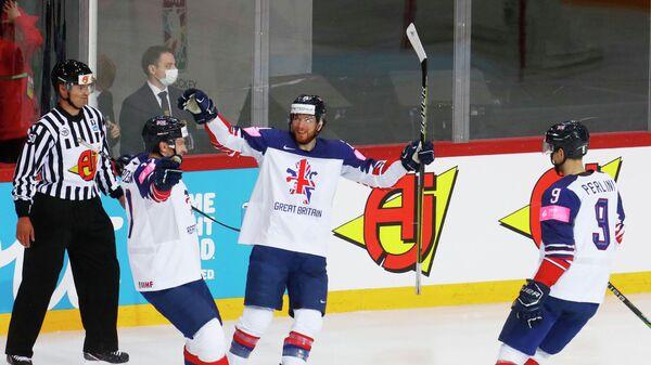 Хоккеисты сборной Великобритании