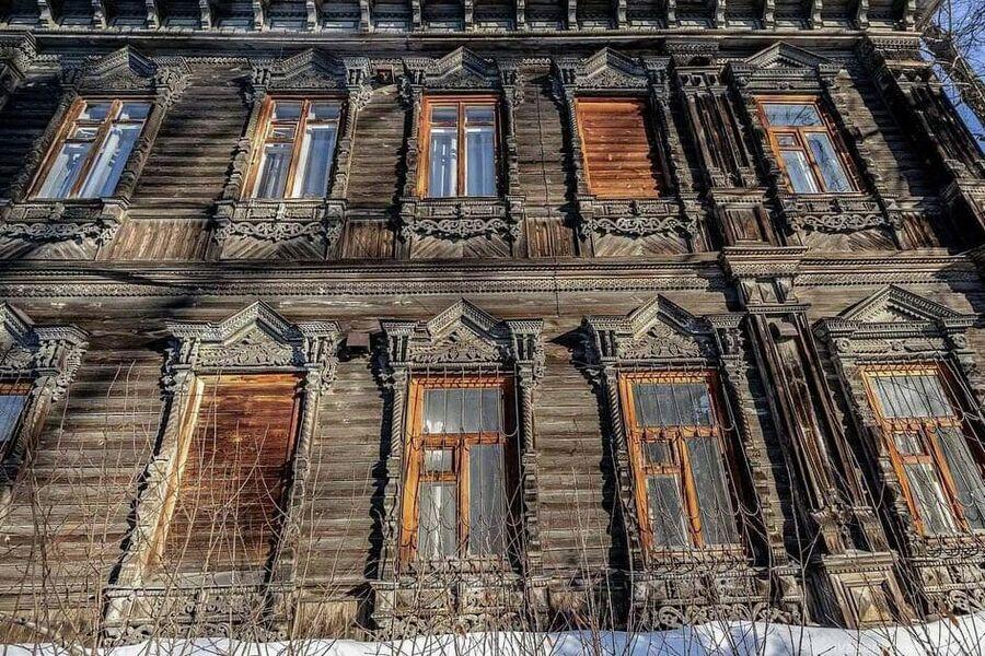 Дом в Нижнем Новгороде, законсервированный волонтерами