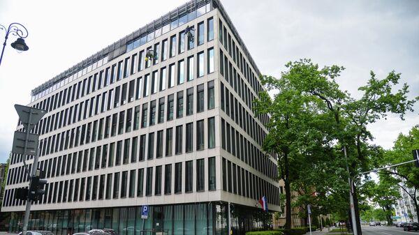 Здание Министерства иностранных дел Польши в Варшаве