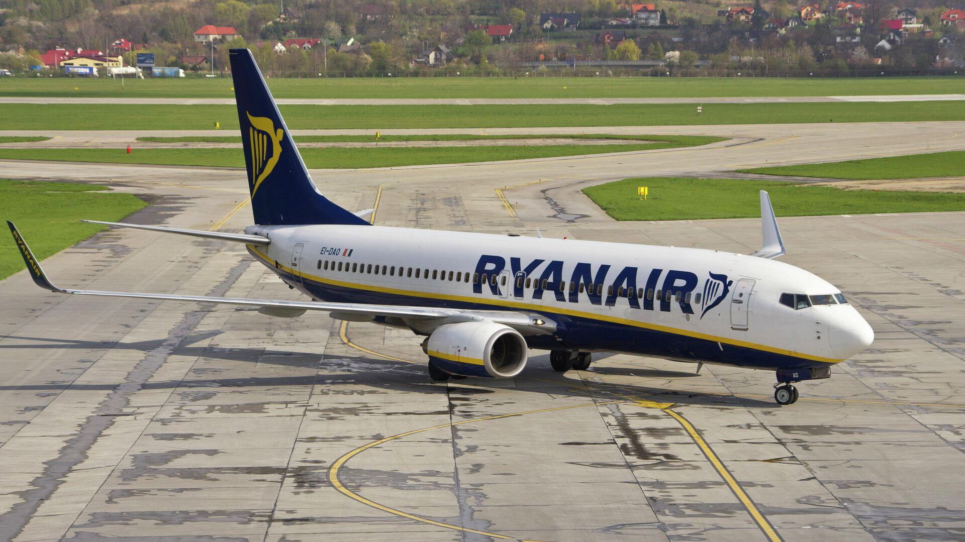 Самолет авиакомпании Ryanair в аэропорту Кракова, Польша - РИА Новости, 1920, 15.06.2021