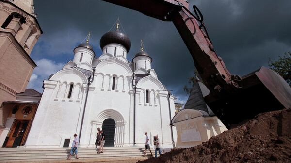 Старицкий Свято-Успенский мужской монастырь в Тверской области