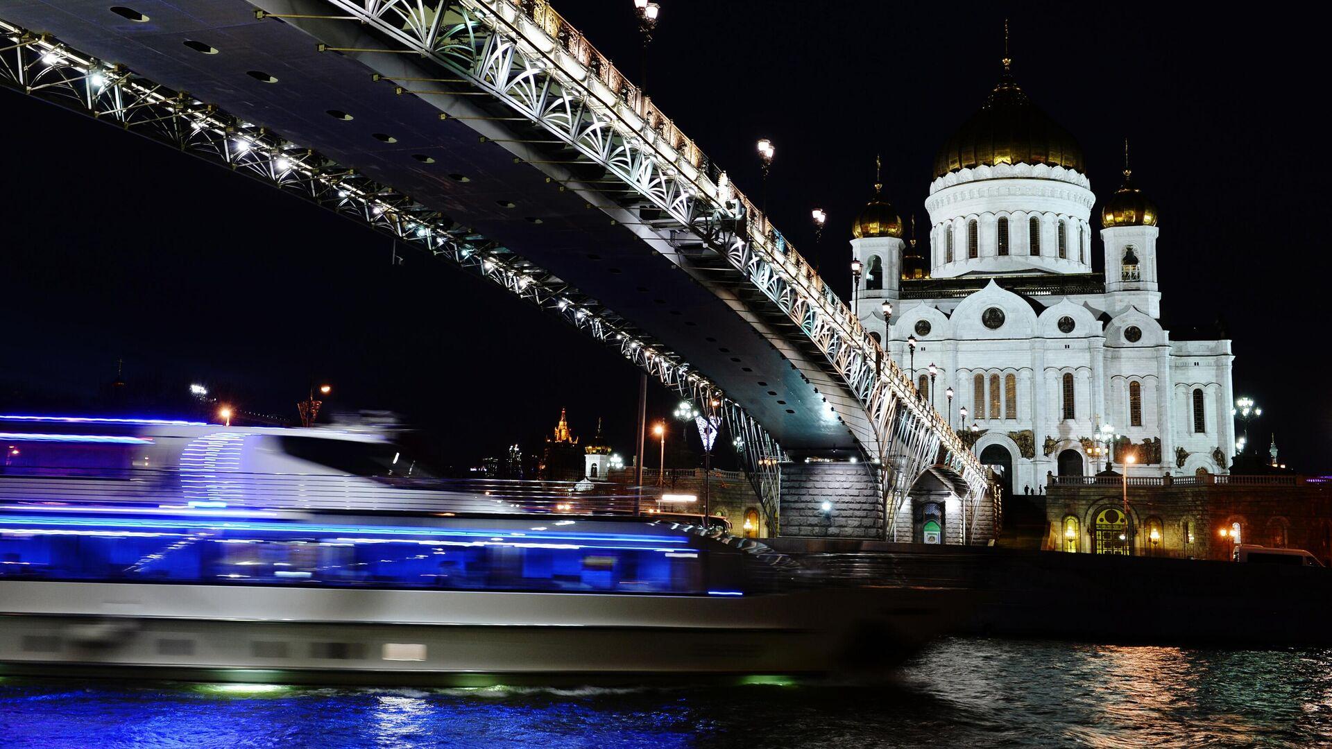 Патриарший мост в Москве - РИА Новости, 1920, 01.08.2021